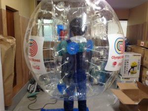 バブルボール 特殊印刷入り