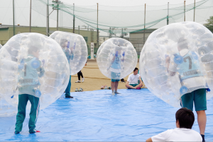 東大阪大学柏原高等学校バブルボール1