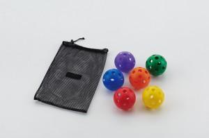 レクレーションボール(6色入)
